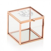 Le porte-alliances cube terrarium monogramme