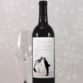 Les 8 étiquettes bouteille de vin mariés