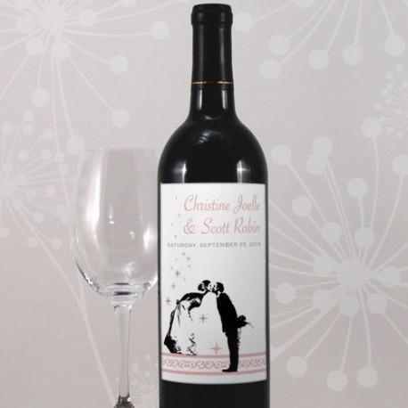 etiquettes personnalisees bouteille vin mariage. Black Bedroom Furniture Sets. Home Design Ideas