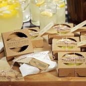 L'emballage carton kraft pour tartelette (par 20)