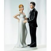 La figurine mariage mariée enceinte