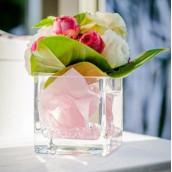 Le vase cube 8cm et 12cm