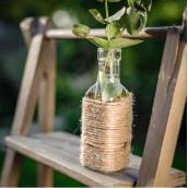 Le vase bouteille carrée miniature