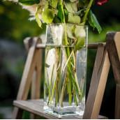 Le vase carré haut 23cm