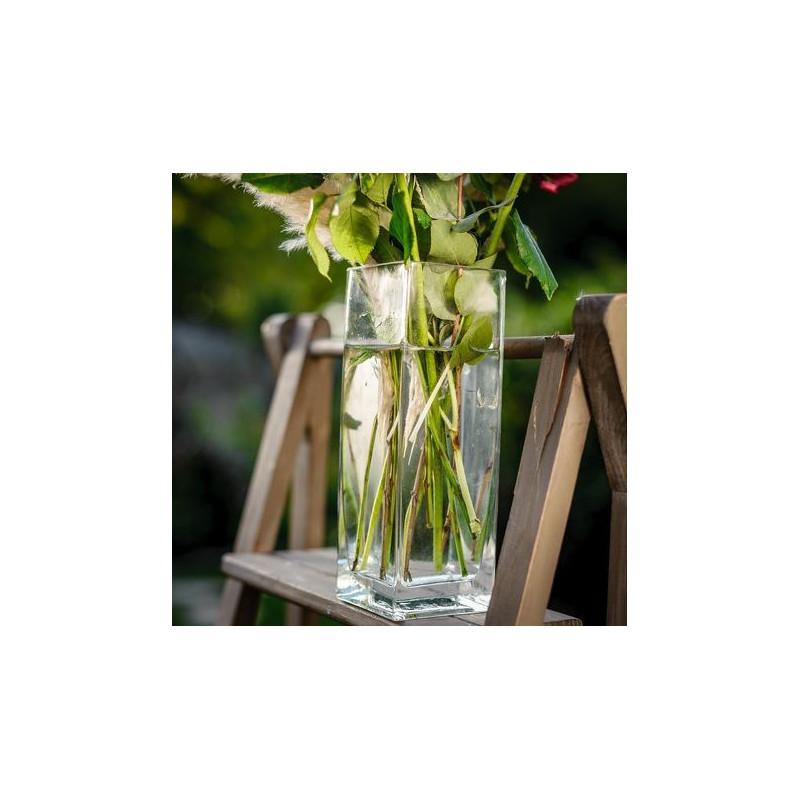 Vase Carr Haut En Verre