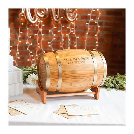 L'urne mariage tonneau de vin