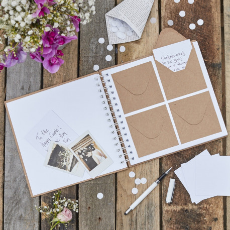 Le Livre D Or A Enveloppes Kraft