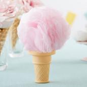 La fleur de douche en cornet de glace