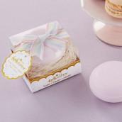 Le cadeau d'invités savon macaron