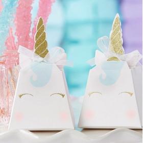 La boîte à dragées licorne (x12)