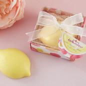 Le cadeau d'invités savon citron