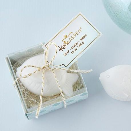 Le boîte cadeau savon poisson