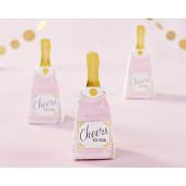 La boite à dragées bouteille de champagne