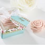 Le cadeau savon en forme de rose