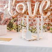 L'urne de mariage cadeau blanc