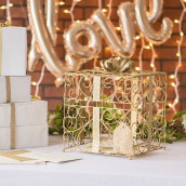 L'urne de mariage cadeau or
