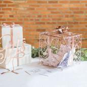 L'urne de mariage cadeau cuivre