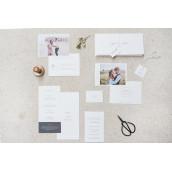 Mariage : Le minimaliste-chic s'invite dans votre papeterie