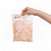 Les confettis biodégradables nude