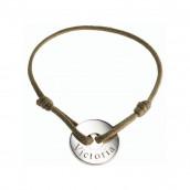 Le bracelet personnalisé témoin argent