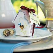 La boite à dragées maison aux oiseaux (x12)