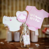 Le kit photobooth baby shower fille