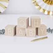 Les cubes en bois oh baby livre d'or