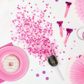 Le push pop confettis rose