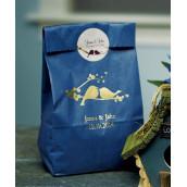 Le sac papier personnalisé oiseaux d'amour (par 25)