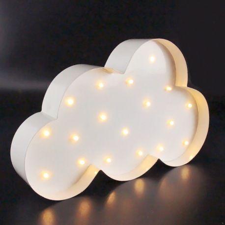 La lampe nuage à leds