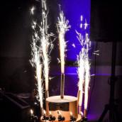 La bougie fontaine pour gâteau 15cm