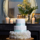 Les bougies dorées pour anniversaire (x10)