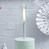 Les 3 bougies fontaine pois argent