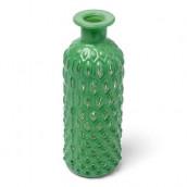 Le vase bouteille ananas vert