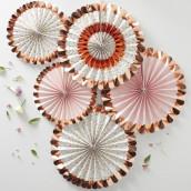 Les cocardes fleurs et cuivre