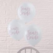 Les ballons evjf rose et blanc