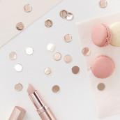 Les confettis de table cuivre