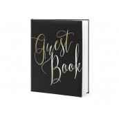 Le livre d'or guestbook noir et or