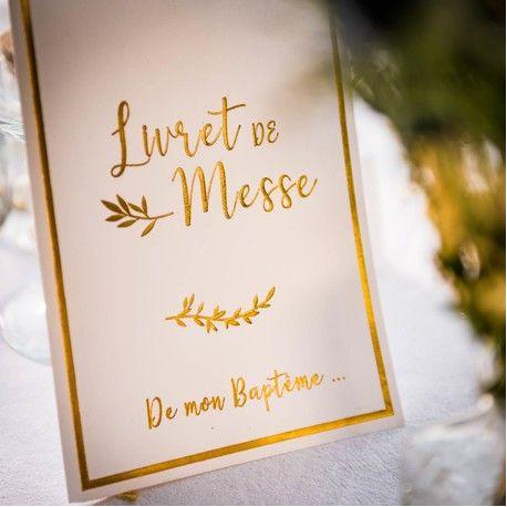 Le Livret De Messe Bapteme X 10