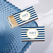 Les boites d'allumettes personnalisée nautique (x50)