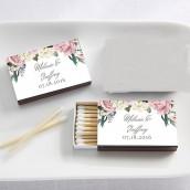 Les boites d'allumettes personnalisée garden party (x50)