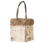 La panier à pétales écorce de bois