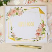 Le livre d'or geo floral