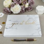 Le livre d'or mariage marbre