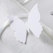 Les 10 étiquettes papillon