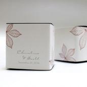 Le sticker automne pour boite cube