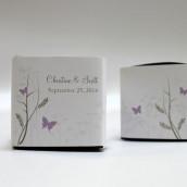 Le sticker champêtre pour boîte cube