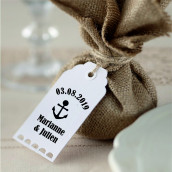 Le tampon personnalisé pour étiquette ancre marine