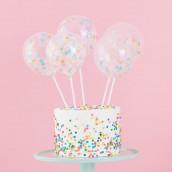 Le kit mini ballon pour décoration gâteau
