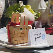 Le mini panier à pique-nique